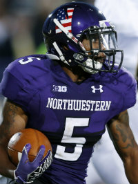 2014 Northwestern season football preview venric mark